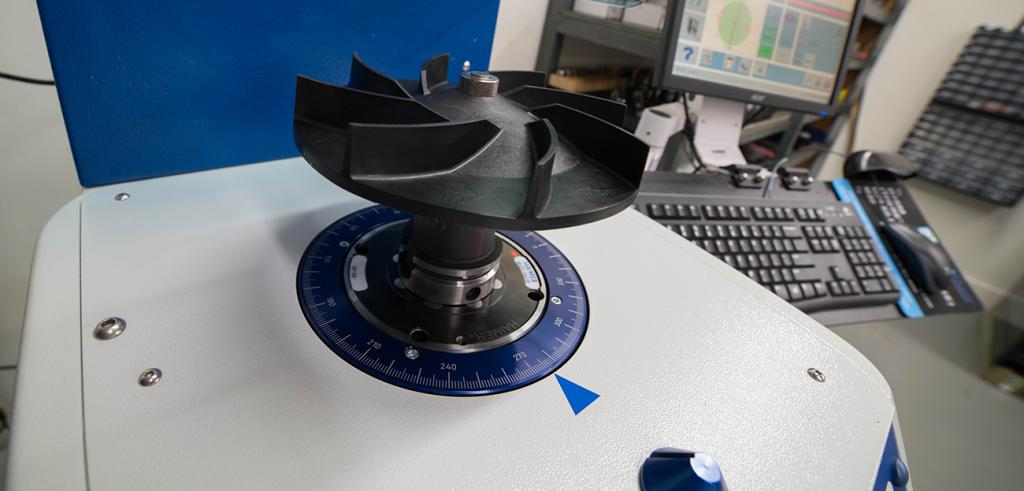 Precision Tool Tech Part Balancing